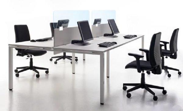 mampara oficinas multipuesto